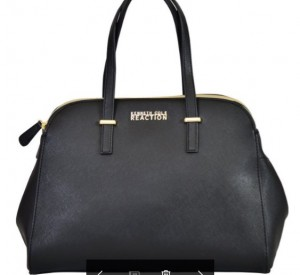 Kenneth Cole Reaction KN1659 Arbol Dome Black Satchel