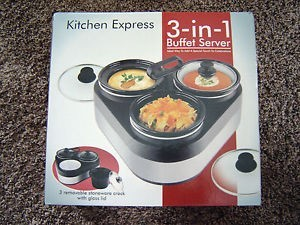 Kitchen Express 3-in-1 server