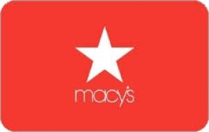 Macy's $20.00 gift card